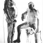 Twee mannen in OI-inkt